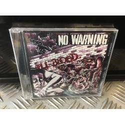 """No Warning - """"ill Blood"""" - CD"""