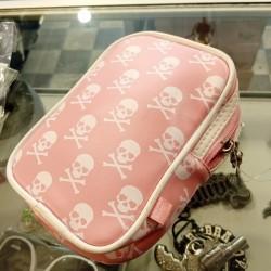 Skull Make-Up Bag Liquor Brand