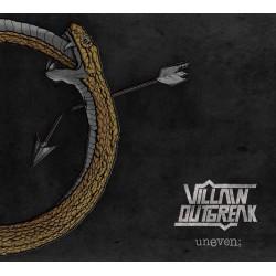 """Villain Outbreak - """"Uneven"""" CD"""