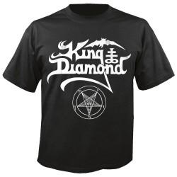"""King Diamond - """"White Logo""""..."""