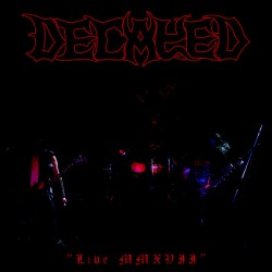 "Decayed - ""Live MMXVII"" - CD"