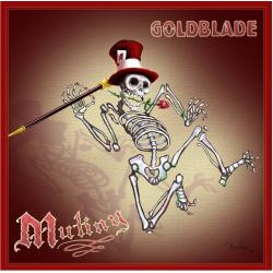 "Gold Blade – ""Mutiny"" - CD"