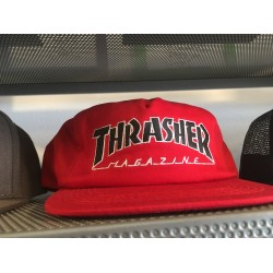 Thrasher Snapback Red